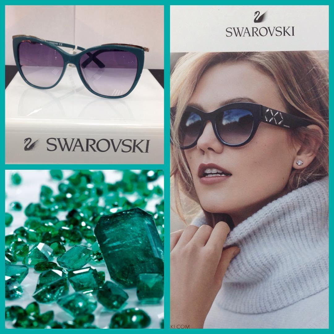 Оправы Swarovski в Outlet Optica